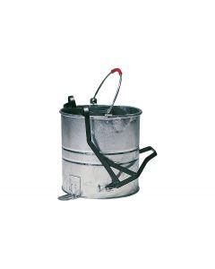 10 litre Galvanised Bucket & Roller