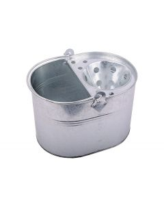 13 litre Galvanised Bucket with Wringer