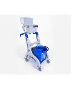 Quick Response Trolley, Bucket & Wringer For Socket Mopping