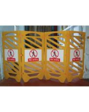 Safety Barrier Sign (Pair)