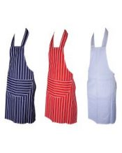 Striped & Plain Apron