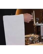 White Honeycomb Waiters Cloth